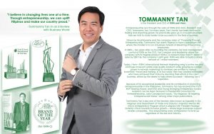 Tomanny Tan GoNegosyo Top 50. FERN Inc, i-FERN & FERN-C World Branding Awards. MVP Bossing Award. Ernst and Young Entrepreneur of the Year